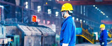 安全鞋100%台灣工廠- hs工作安全鞋 鉄鋼工場